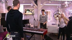 Alessandra Sublet et C à Vous dans la Suite - 26/05/11 - 01