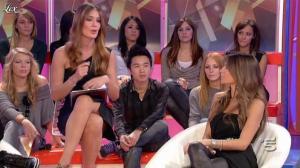 Alessia Ventura et Silvia Toffanin dans Verissimo - 06/11/10 - 04