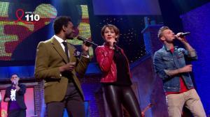 Chimène Badi dans les Stars Chantent la Tete dans les Etoiles - 31/03/12 - 03