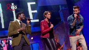 Chimène Badi dans les Stars Chantent la Tete dans les Etoiles - 31/03/12 - 10