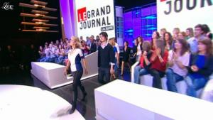 Karin Viard dans le Grand Journal de Canal Plus - 12/10/11 - 01