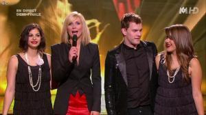 Sandrine Corman et Sarah Manesse dans X Factor - 21/06/11 - 03