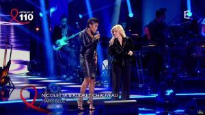 Audrey Chauveau dans Toute la télé Chante Pour le Sidaction - 06/04/13 - 02