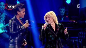 Audrey Chauveau dans Toute la télé Chante Pour le Sidaction - 06/04/13 - 04