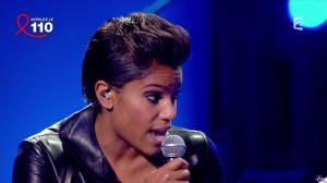 Audrey Chauveau dans Toute la télé Chante Pour le Sidaction - 06/04/13 - 05