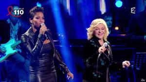Audrey Chauveau dans Toute la télé Chante Pour le Sidaction - 06/04/13 - 06