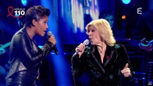 Audrey Chauveau dans Toute la Télé Chante Pour le Sidaction - 06/04/13 - 07