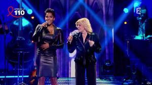 Audrey Chauveau dans Toute la Télé Chante Pour le Sidaction - 06/04/13 - 09