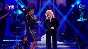 Audrey Chauveau dans Toute la Télé Chante Pour le Sidaction - 06/04/13 - 10