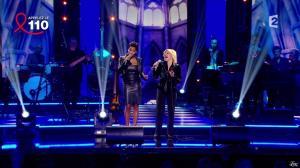 Audrey Chauveau dans Toute la télé Chante Pour le Sidaction - 06/04/13 - 12