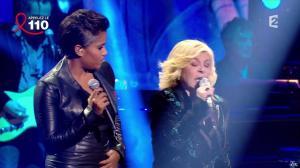 Audrey Chauveau dans Toute la télé Chante Pour le Sidaction - 06/04/13 - 13