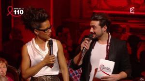 Audrey Pulvar dans Toute la télé Chante Pour le Sidaction - 06/04/13 - 01