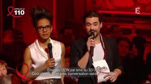 Audrey Pulvar dans Toute la Télé Chante Pour le Sidaction - 06/04/13 - 02