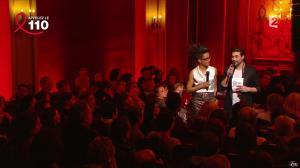 Audrey Pulvar dans Toute la télé Chante Pour le Sidaction - 06/04/13 - 03