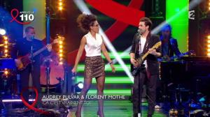 Audrey Pulvar dans Toute la Télé Chante Pour le Sidaction - 06/04/13 - 04