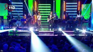 Audrey Pulvar dans Toute la télé Chante Pour le Sidaction - 06/04/13 - 07