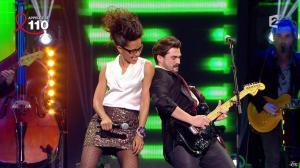 Audrey Pulvar dans Toute la télé Chante Pour le Sidaction - 06/04/13 - 12