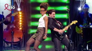 Audrey Pulvar dans Toute la télé Chante Pour le Sidaction - 06/04/13 - 13