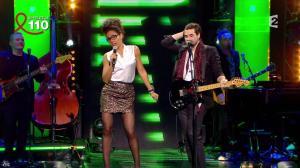 Audrey Pulvar dans Toute la Télé Chante Pour le Sidaction - 06/04/13 - 14