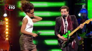 Audrey Pulvar dans Toute la télé Chante Pour le Sidaction - 06/04/13 - 15