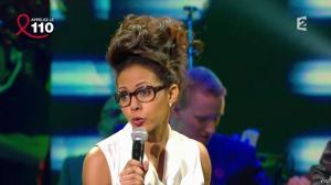 Audrey Pulvar dans Toute la télé Chante Pour le Sidaction - 06/04/13 - 16