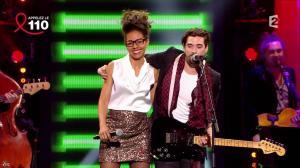 Audrey Pulvar dans Toute la télé Chante Pour le Sidaction - 06/04/13 - 18