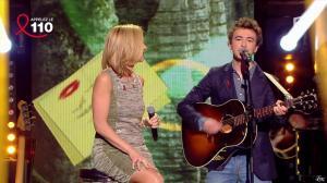 Laurence Ferrari dans Toute la télé Chante Pour le Sidaction - 06/04/13 - 04