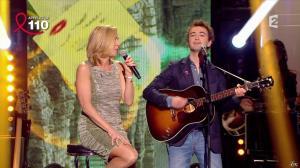 Laurence Ferrari dans Toute la télé Chante Pour le Sidaction - 06/04/13 - 05
