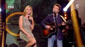 Laurence Ferrari dans Toute la Télé Chante Pour le Sidaction - 06/04/13 - 08