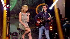 Laurence Ferrari dans Toute la Télé Chante Pour le Sidaction - 06/04/13 - 09