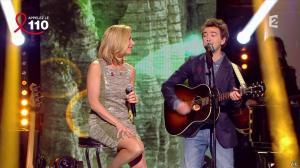Laurence Ferrari dans Toute la Télé Chante Pour le Sidaction - 06/04/13 - 12