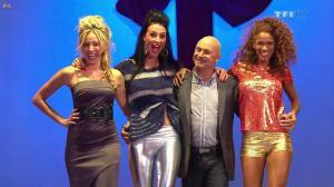 Les Gafettes, Fanny Veyrac, Doris Rouesne et Nadia Aydanne dans le Juste Prix - 01/01/13 - 01