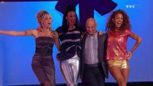 Les Gafettes, Fanny Veyrac, Doris Rouesne et Nadia Aydanne dans le Juste Prix - 01/01/13 - 03