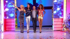 Les Gafettes, Fanny Veyrac, Doris Rouesne et Nadia Aydanne dans le Juste Prix - 01/01/13 - 05