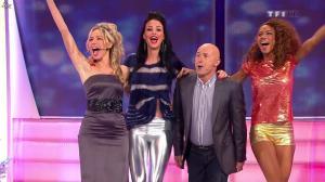 Les Gafettes, Fanny Veyrac, Doris Rouesne et Nadia Aydanne dans le Juste Prix - 01/01/13 - 07