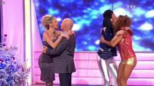 Les Gafettes, Fanny Veyrac, Doris Rouesne et Nadia Aydanne dans le Juste Prix - 01/01/13 - 09