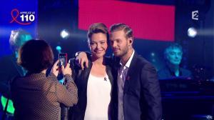 Sandrine Quétier dans Toute la télé Chante Pour le Sidaction - 06/04/13 - 01