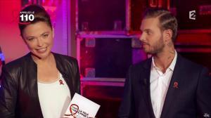 Sandrine Quétier dans Toute la Télé Chante Pour le Sidaction - 06/04/13 - 02