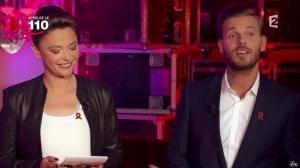 Sandrine Quétier dans Toute la télé Chante Pour le Sidaction - 06/04/13 - 06