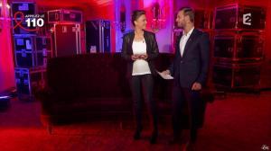 Sandrine Quétier dans Toute la Télé Chante Pour le Sidaction - 06/04/13 - 07