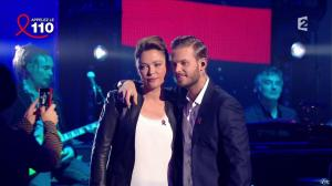 Sandrine Quétier dans Toute la télé Chante Pour le Sidaction - 06/04/13 - 11