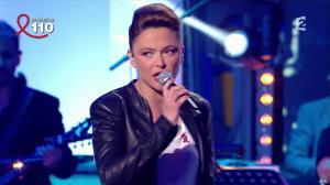 Sandrine Quétier dans Toute la Télé Chante Pour le Sidaction - 06/04/13 - 13