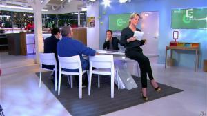 Anne-Sophie Lapix dans C à Vous - 13/02/14 - 02