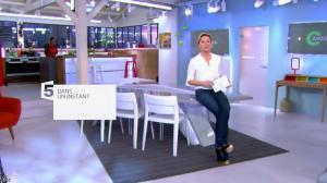 Anne-Sophie Lapix dans C à Vous - 14/02/14 - 01