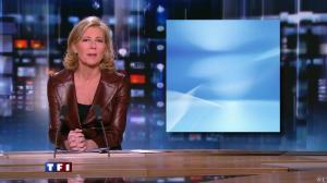 Claire Chazal au JT de 20h - 13/02/10 - 02