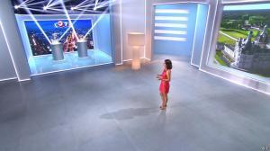Estelle Denis lors du Tirage du Loto - 02/04/14 - 04