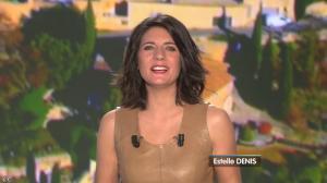 Estelle Denis lors du Tirage du Loto - 05/04/14 - 02