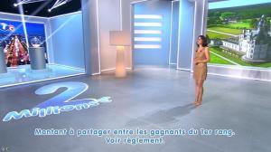 Estelle Denis lors du Tirage du Loto - 05/04/14 - 05