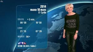 Evelyne Dhéliat à la Météo de 20h - 17/03/14 - 02
