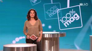 Faustine Bollaert dans 100 Mag - 05/03/14 - 01